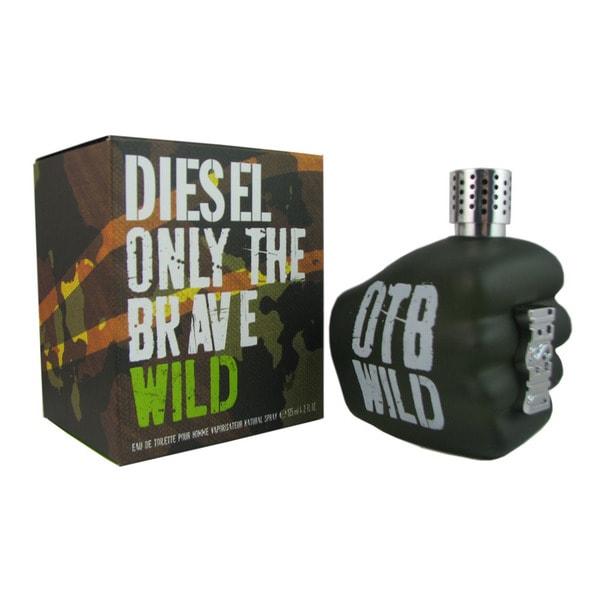 Shop Diesel Only The Brave Wild Mens 25 Ounce Eau De Toilette