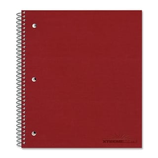 Rediform The Stuffer College Rule Notebook - Assorted Color