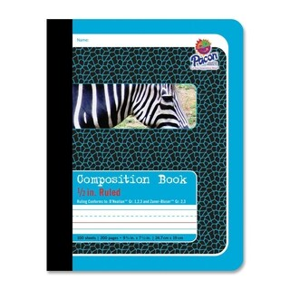 Pacon Zebra Composition Book