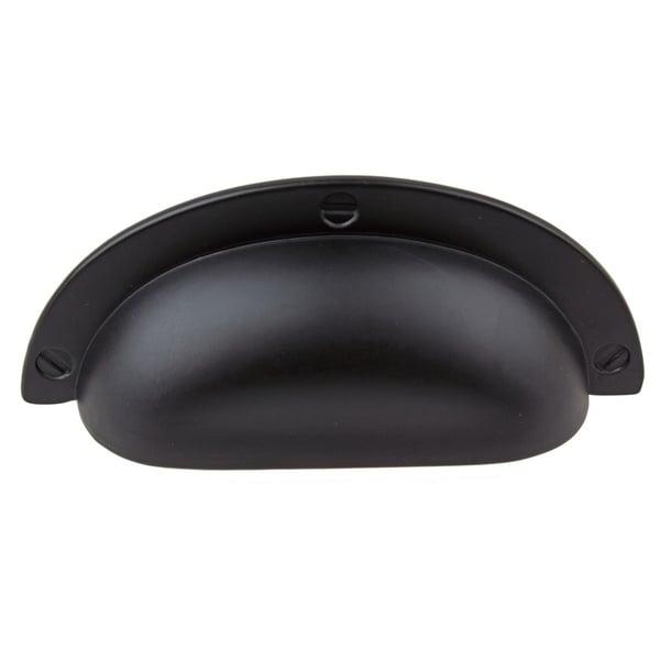 Gliderite 2 5 Inch Matte Black Cabinet Bin Pulls Pack Of