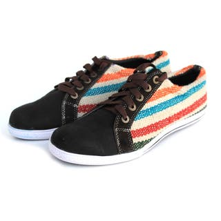 ANDIZ Women's Handmade Brown Low-cut Wool Oxford Shoes|https://ak1.ostkcdn.com/images/products/10372516/P17478808.jpg?impolicy=medium
