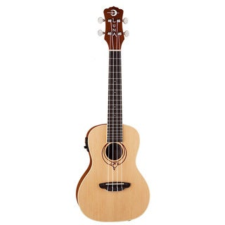 Luna Ukulele Concert Heatsong USB and Preamp