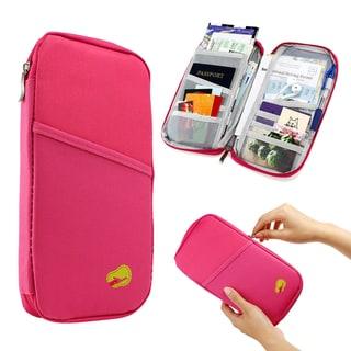 Gearonic Travel Passport Credit ID Card Cash Organizer/Document Bag