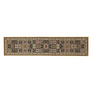 Linon Persian Treasures Bakhtiari Oriental Polypropylene Runner Rug (2'3-inch x 16') - 2'3 x 16'