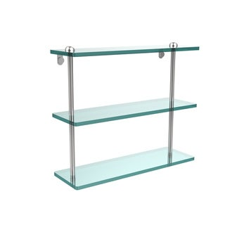 Link to 16-inch Triple Tiered Glass Shelf Similar Items in Bath