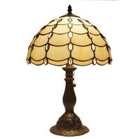 Amora Lighting Tiffany-style Floral Design 19-inch Table Lamp