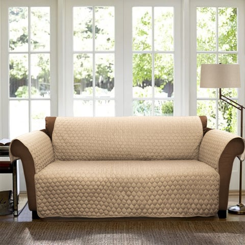 Lush Decor Joyce Loveseat Furniture Protector/Slipcover - N/A