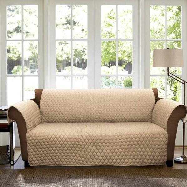 Lush Decor Joyce Loveseat Furniture Protector/Slipcover