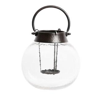 Apothecary & Company Hammered Glass Tealight Lantern