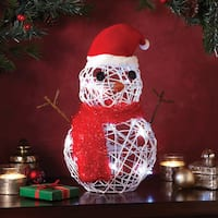 Apothecary & Company 15 in. LED Snowman