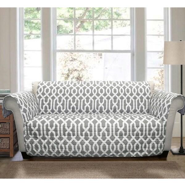 Shop Lush Decor Edward Sofa Furniture Protector Slipcover