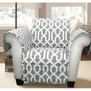 Lush Decor Edward Trellis Armchair Furniture Protector/Slipcover (3 options available)