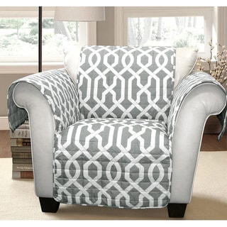 Lush Decor Edward Trellis Armchair Furniture Protector/Slipcover