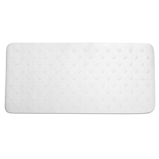 Natural Rubber Jumbo Size Non-slip Suction Cup Base Tub Mat