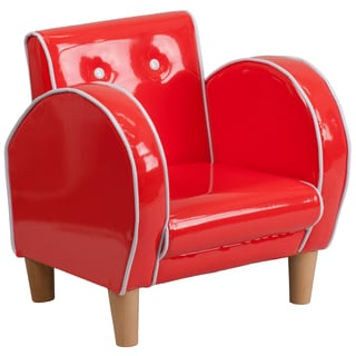 Kids Plastic Red Chair
