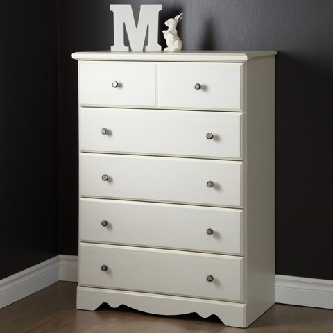 South Shore Country Poetry 5-Drawer Chest