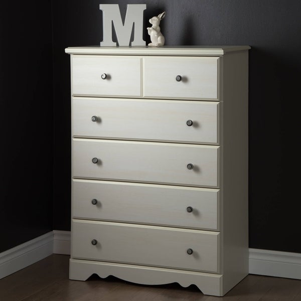 South Shore Country Poetry 5-Drawer Chest 15864160