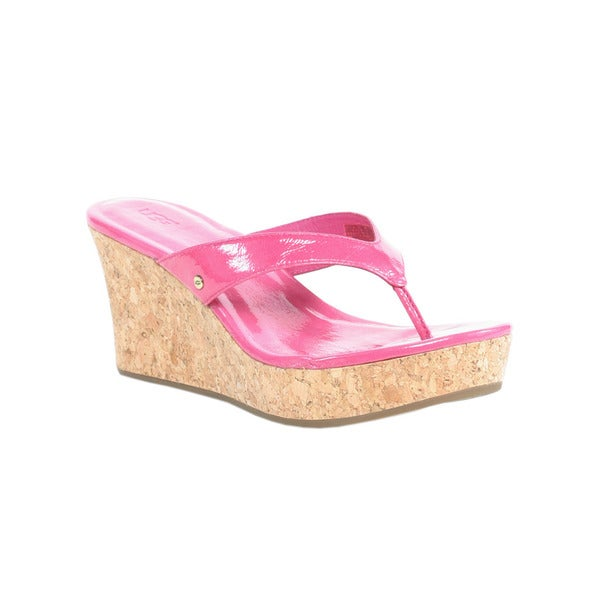 Ugg Princess Pink Women's Natassia Wedges