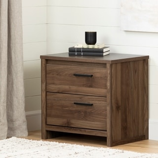 South Shore Tao 2-Drawer Nightstand