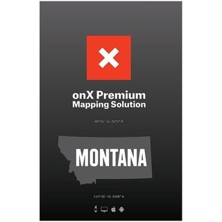 HUNT Montana by onXmaps Public/ Private Land Ownership 24k Topo Maps for Garmin GPS, Smartphone, and Computer