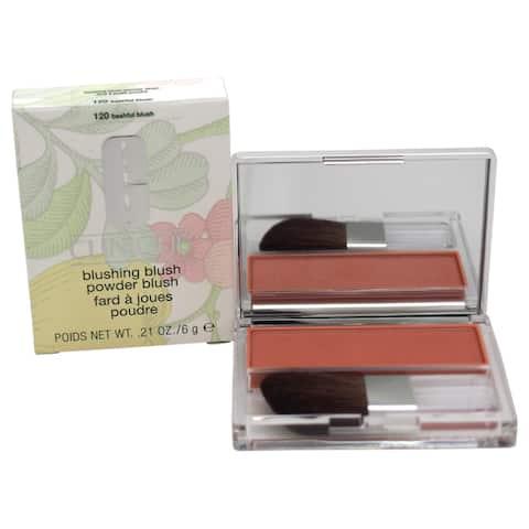 Clinique Blushing Blush Powder Blush # 120 Bashful Blush