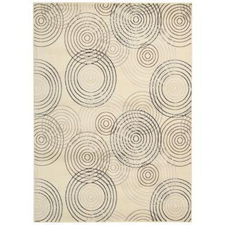 Nourison Studio Ivory Rug (7'10 x 10'6)