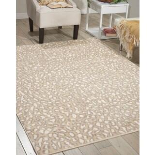 Nourison Studio Almond Rug (5'3 x 7'3)