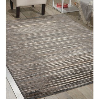 Nourison Studio Ivory Grey Rug (3'11 x 5'3)