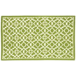 Waverly Art House Lovely Lattice Citrine Area Rug by Nourison (2'3 x 3'9)