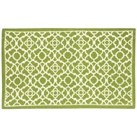 Waverly Art House Lovely Lattice Citrine Area Rug by Nourison (2'3 x 3'9) - 2'3 x 3'9