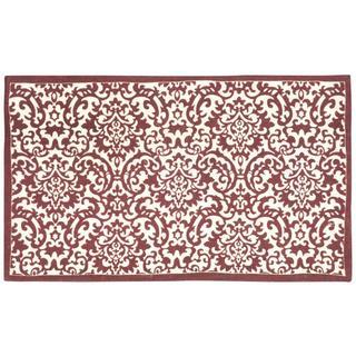 "Waverly Art House Dunkin Crimson/Cream Area Rug by Nourison (2'3 x 3'9) - 2'3"" x 3'9"""