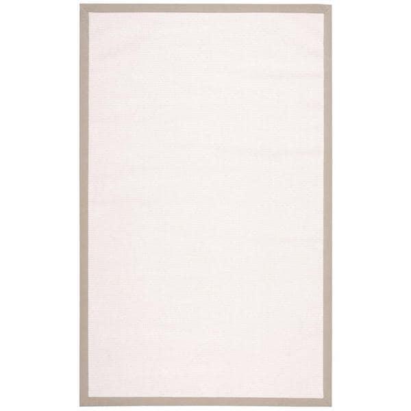 Nourison Sisal Soft White Rug (5' x 8')
