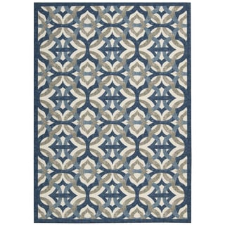 Waverly Sun N' Shade Tipton Celestial Indoor/ Outdoor Area Rug by Nourison (7'9 x 10'10)