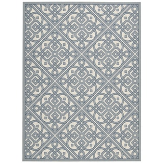 Waverly Sun N' Shade Lace It Up Aquarium Area Rug by Nourison (7'9 x 10'10)