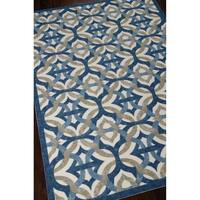 Waverly Sun N' Shade Tipton Celestial Outdoor Rug by Nourison