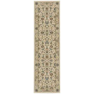 kathy ireland Antiquities Royal Countryside Ivory Area Rug by Nourison (2'2 x 7'6)