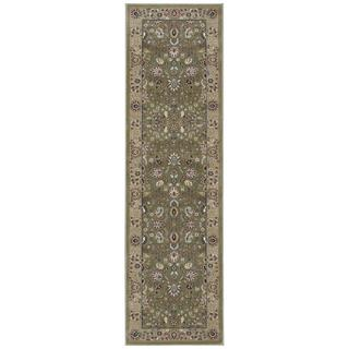 kathy ireland Antiquities Royal Countryside Sage Area Rug by Nourison (2'2 x 7'6)