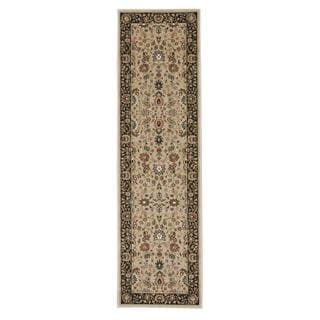 kathy ireland Antiquities Royal Countryside Cream Area Rug by Nourison (2'2 x 7'6)