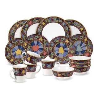 Pfaltzgraff Christmas Rejoice 16-piece Dinnerware Set