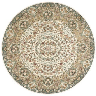 kathy ireland Antiquities Stately Empire Ivory Area Rug by Nourison (5'3 x 5'3)