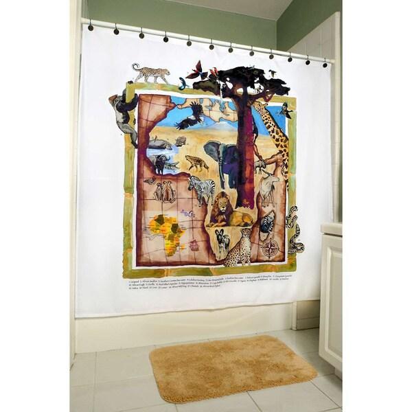 ShowerSmarts – Safari Jungle - Africa