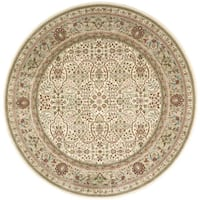 "kathy ireland Antiquities American Jewel Ivory Area Rug by Nourison (7'10 x 7'10) - 7'10"" x 7'10"""