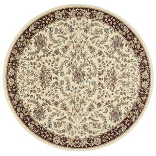 kathy ireland Antiquities Timeless Elegance Ivory Area Rug by Nourison (7'10 x 7'10)