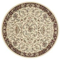 "kathy ireland Antiquities Timeless Elegance Ivory Area Rug by Nourison (7'10 x 7'10) - 7'10"" x 7'10"""