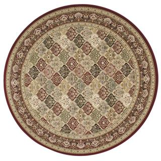 kathy ireland Antiquities Washington Square Multicolor Area Rug by Nourison (7'10 x 7'10)