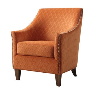 Oliver & James Monika Orange Accent Chair