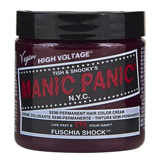 Fuschia Shock Purple Manic Panic Vegan 4-ounce Hair Dye