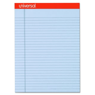 Universal Fashion-Colored Perforated Orchid Note Pads (Pack of 6 Pads)