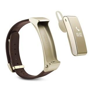 HUAWEI TalkBand B2 Android Bluetooth Fitness Watch + Earpiece -Elite Golden