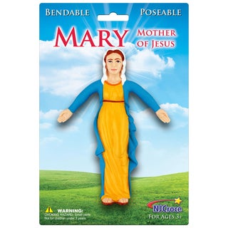 Virgin Mary Bendable Figure